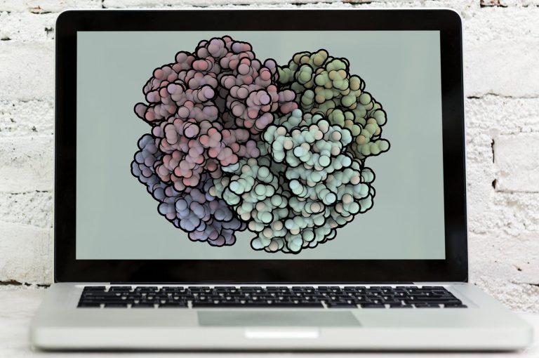 Qutemol image of Hemoglobin (PDB ID: 2HBB)
