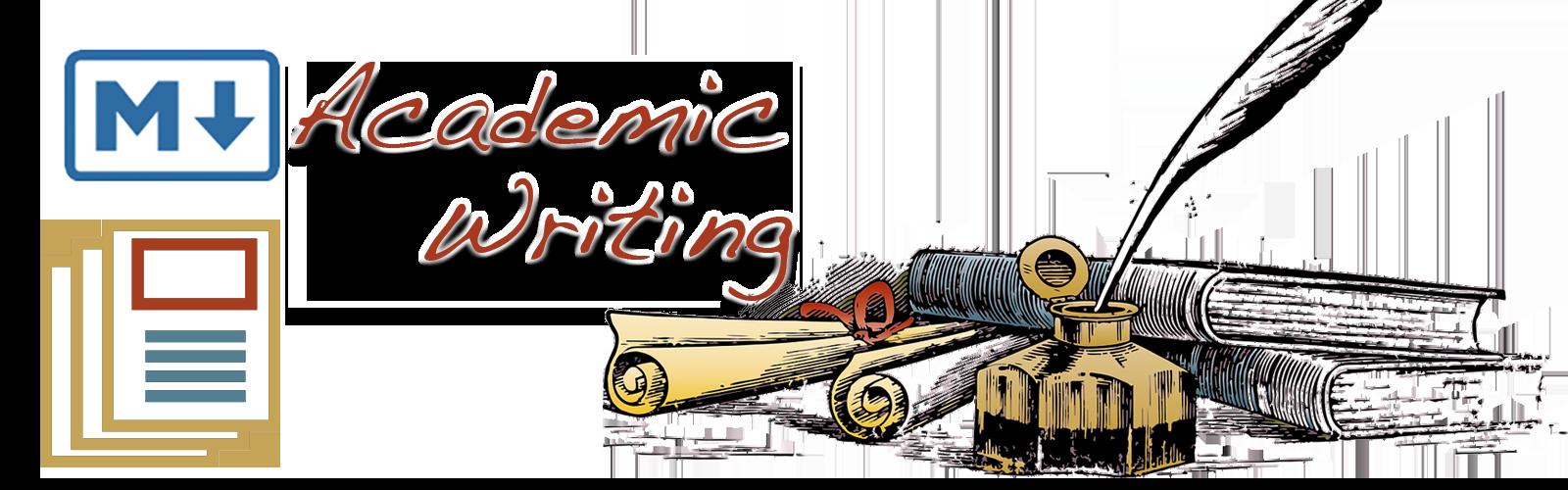 Markdown Academic Writing