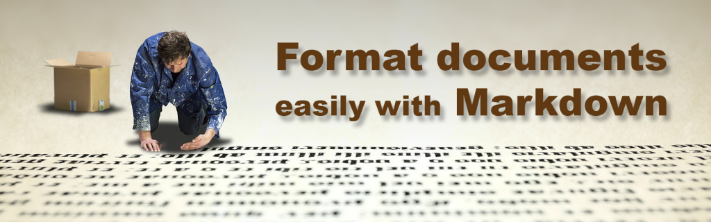 Format documents with Markdown