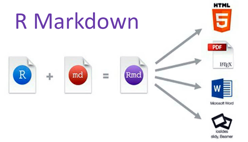 Markdown Rmarkdown process